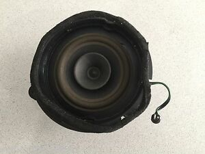 Speaker Install E320 : 1998 2002 mercedes benz e320 e430 w210 left rear door speaker oem part ebay ~ Vivirlamusica.com Haus und Dekorationen