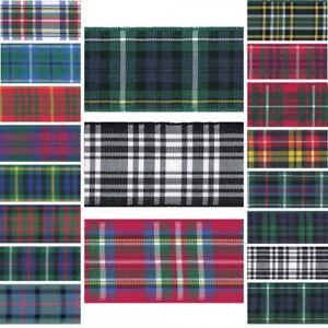 Berisfords-Scottish-Woven-Tartan-Ribbon-7mm-10mm-16mm