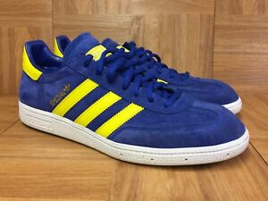 RARE🔥 Adidas Spezial Royal Blue Suede Green Yellow Lemon Peel Sz 10 ... af5a2ce36