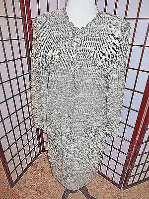 1960/'s M.S Couture Wool Striped Dress