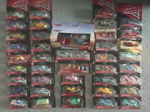 Disney Pixar Cars LOT OF 4 DIE CAST. (CHOOSE 4 ITEMS FROM LIST IN DESCRIPTION)