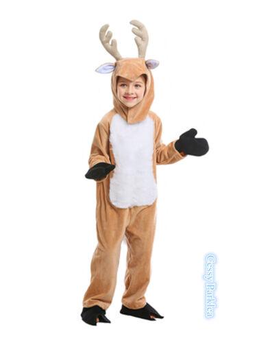 E3 Boys Girls Mens Womens The Deer Christmas Reindeer Family Book Week Costume