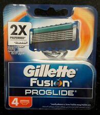 4 Gillette Fusion Proglide Rasierklingen ORIGINAL
