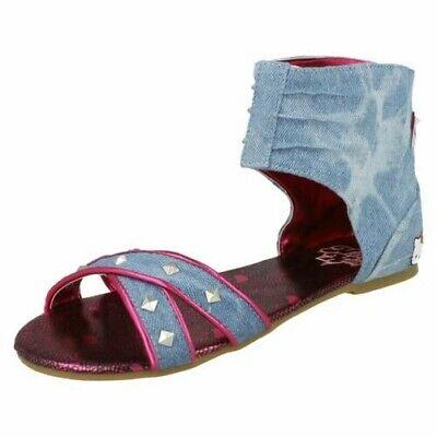 Girls New Burmese Booties Hello Kitty Pull On Ankle Winter Slipper UK Size 8-2