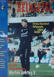 Fortuna Düsseldorf Programm 1995//96 KFC Uerdingen