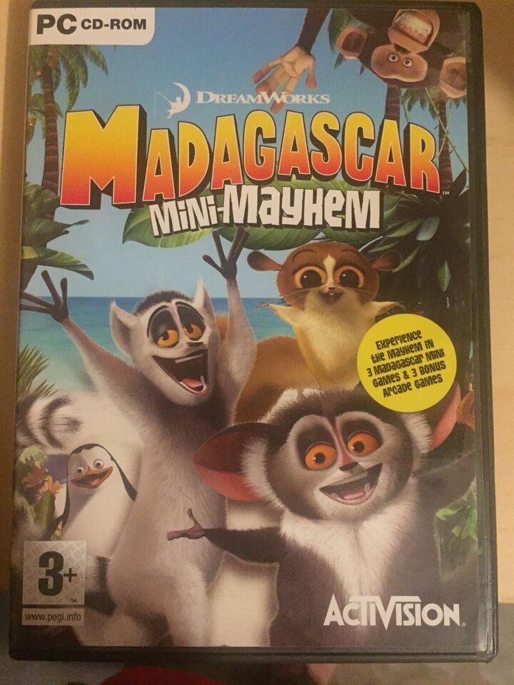 Madagascar mini-mayhem, til pc, adventure