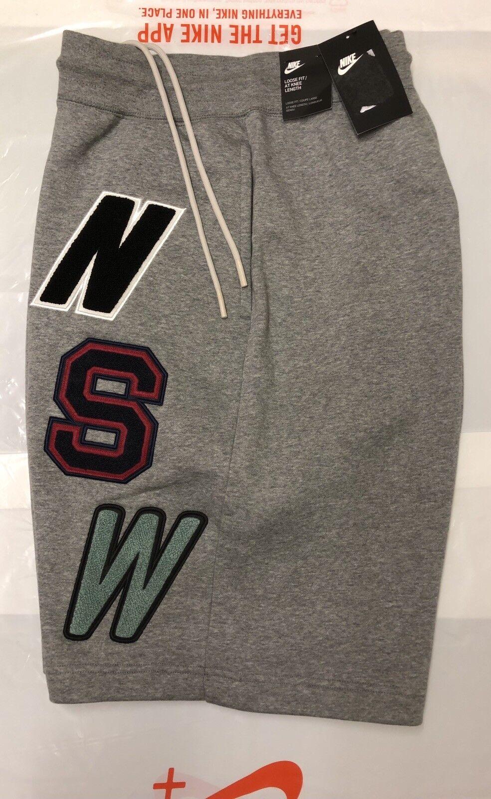 Nike Sportswear Nsw Pantaloncini da uomo in pile con Nuovo di Zecca TAG XL