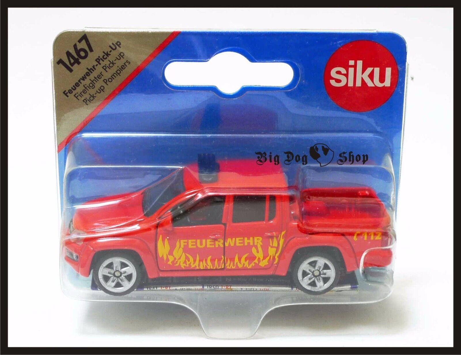"TOP Siku 1467 Feuerwehr Pick Up /""Super Serie/"" NEU"