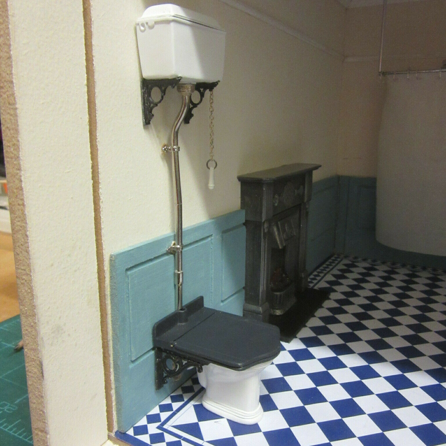 Dolls House Victorian Toilet Ready made Lili Anne Bathroom collection