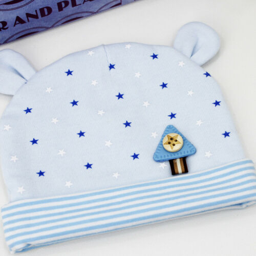 Cotton Baby Hat Soft Cute Newborn Infant Toddler Comfy Baby Cap Beanie Hats