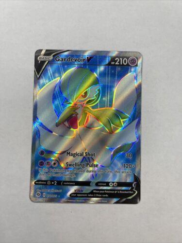 070//073 Pokemon Ultra Rare Gardevoir V Full Art NM//M Champion/'s Path