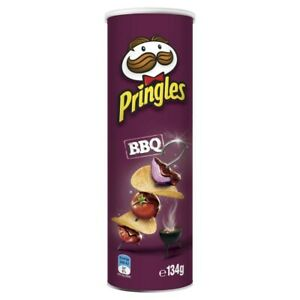 Pringles BBQ Stacked Potato Chips 134g