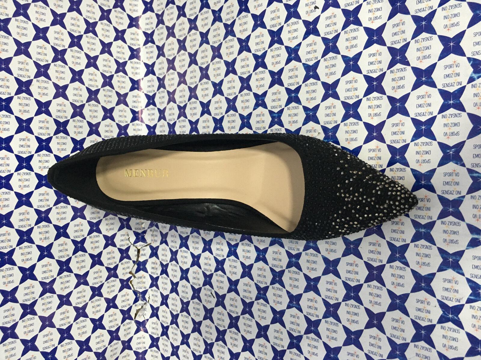 Schuhe Decoltè Tacco 10 Menbur Damenschuhe - Decoltè Schuhe Punta Total Strass - Nero - 7691 3ca97b