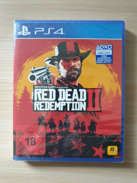 Red Dead Redemption 2 - PlayStation PS4 - Neu&OVP