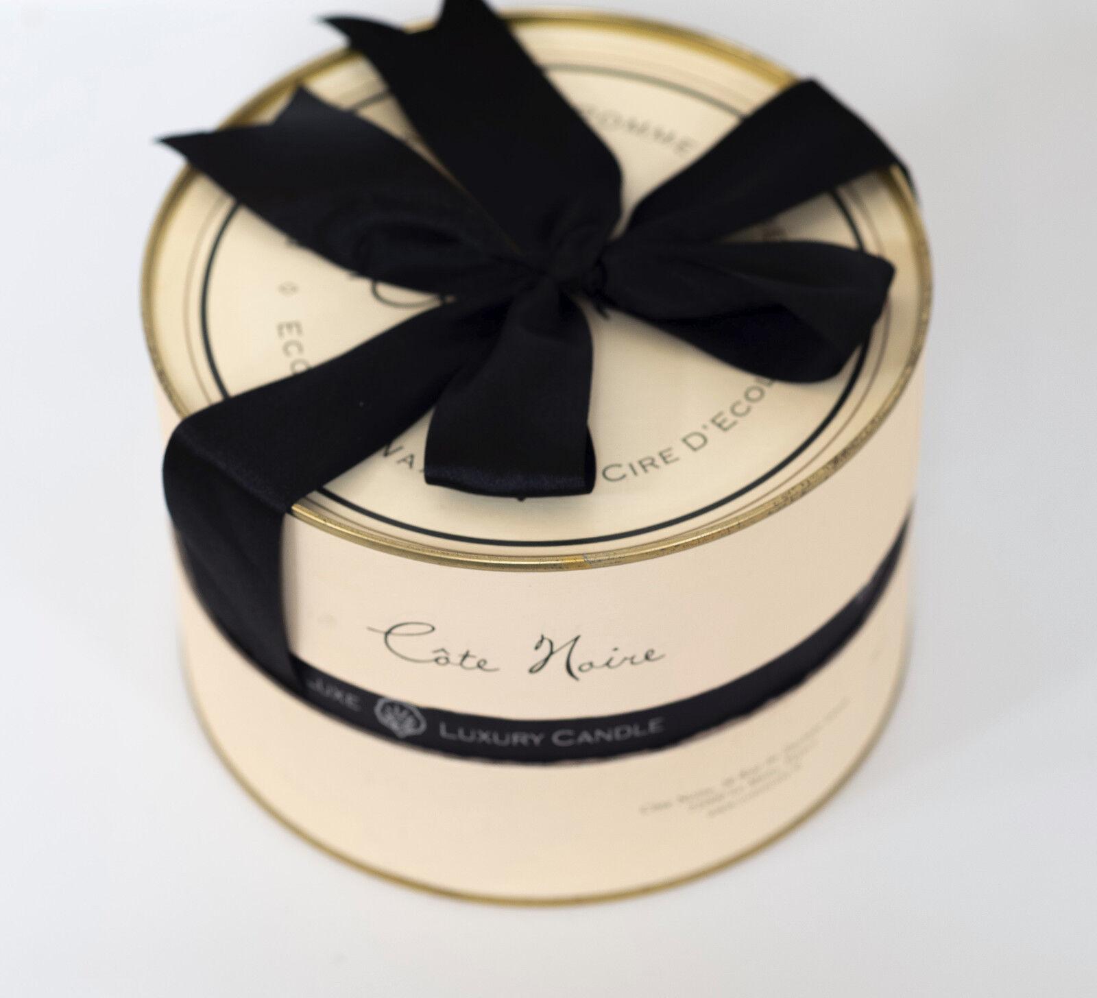 Côte schwarze Wachskerze Wachskerze Wachskerze  Pomme d`Amber  im Glas mit 3 Dochten Cote schwarze | Creative  246486