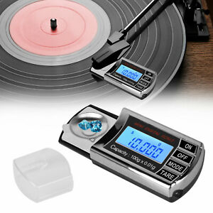 LED-Digital-Cartridge-Scale-Pressure-Gauge-Force-Turntable-Stylus-0-01g-Tracking