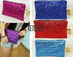 Glitter-Sparkling-Sequins-Dazzling-Clutch-Evening-Party-Handbag-Bag-Bling-Purse