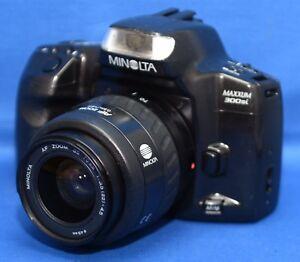 MINOLTA-MAXXUM-300si-SLR-Vintage-Film-Camera-f-3-5-35-70mm-Lens