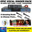 VOCAL-SINGER-MP4000-493-SUNFLY-SONGS-40-DVDS-2-MICS-KARAOKE-MACHINE thumbnail 1