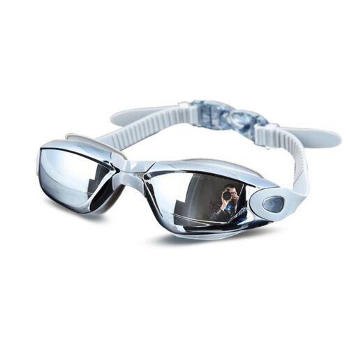 Electroplating UV Waterproof Anti fog Swimwear Eyewear Swim Diving Water