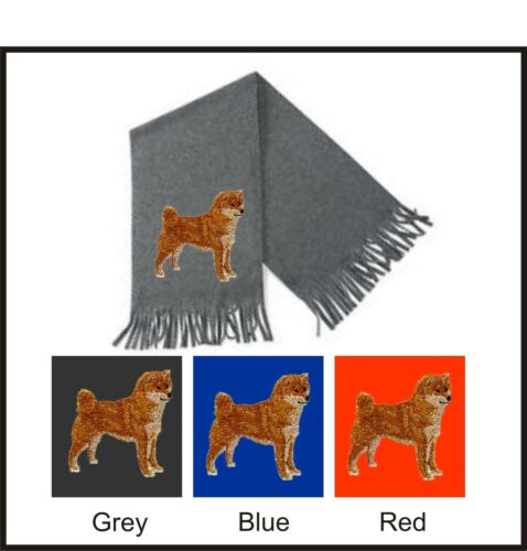 Shiba Inu Scarf Perfect Gift Embroidered by Dogmania