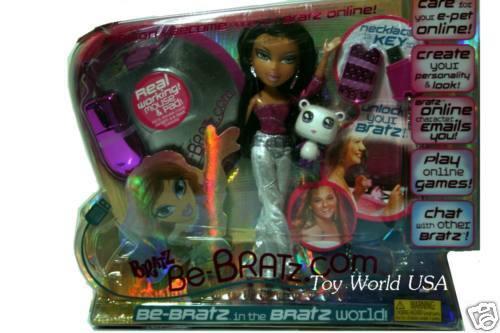 Bratz BE-BRATZ.COM Yasmin Doll