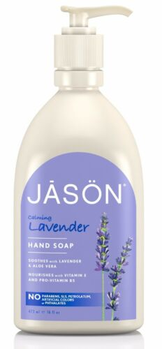 JASON CALMING LAVENDER HAND SOAP FREE FROM PARABEN, SLS, HARSH CHEMICALS