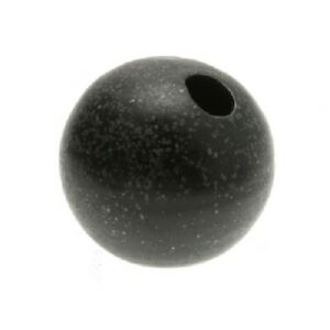 Kotobuki-Japanese-Mini-Flower-Ikebana-Vase-Ceramic-Globe-Speckle-Black-510-237