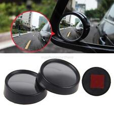 2x Universal AUTO CAR ACCESSORIES Convex Wide Angle Blind Spot Mirror RearView