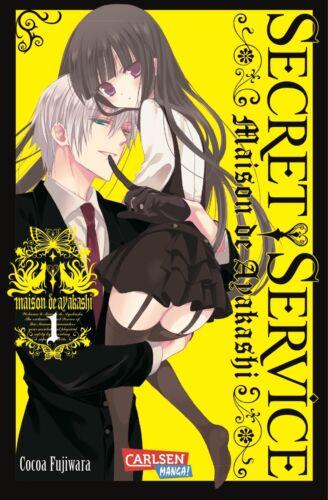 Secret Service 0-11 Manga Sammlung  Maison de Ayakashi deutsch