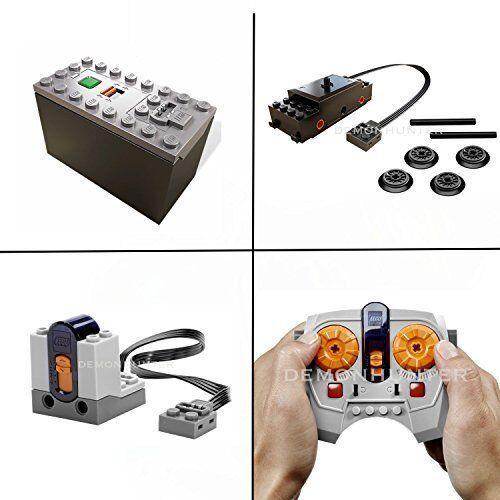LEGO Train Power Functions Train motor kit IR Receiver battery box remote 60051