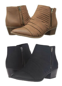 8042ad6bb34060 Circus by Sam Edelman Women s Holden Ankle Booties Suede Side Zip ...