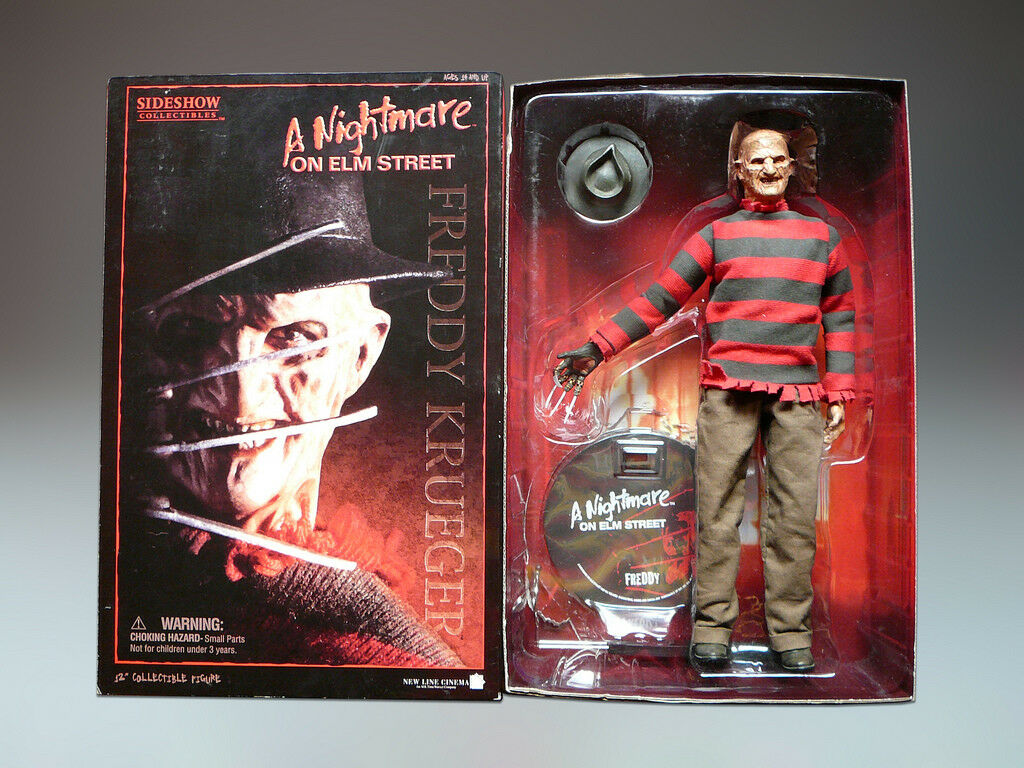 Sidemostrare Collectibles Frossodie Frossodie Frossodie Krueger Nightmare on Elm Street 1 6 cifra 287690