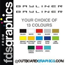 Pair of 1220mm (48 inch) Bayliner sticker/decals