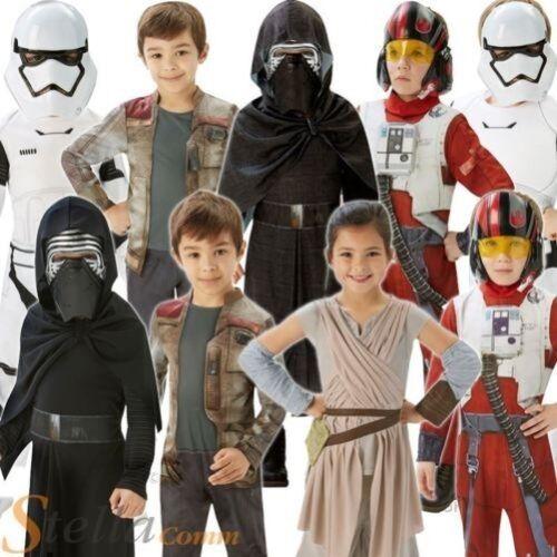 enfants la guerre des étoiles Déguisements Force se réveille