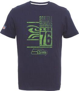 G-III Sports Seattle Seahawks Football Established 1976 Mens T-Shirt