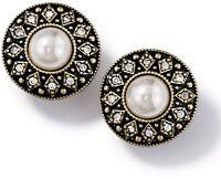 Avon Vintage Style Pearlesque Earrings