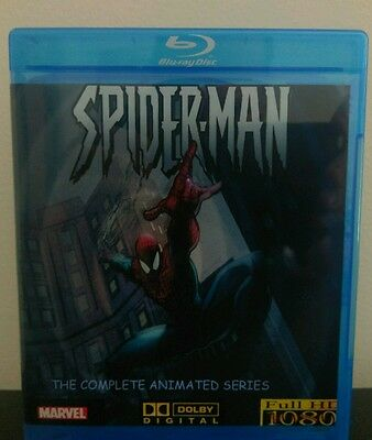 SPIDER-MAN Complete 1990's Cartoon Animated Series BluRay Set