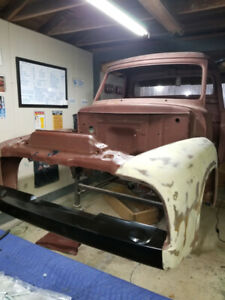 Very clean 1955 f100 project
