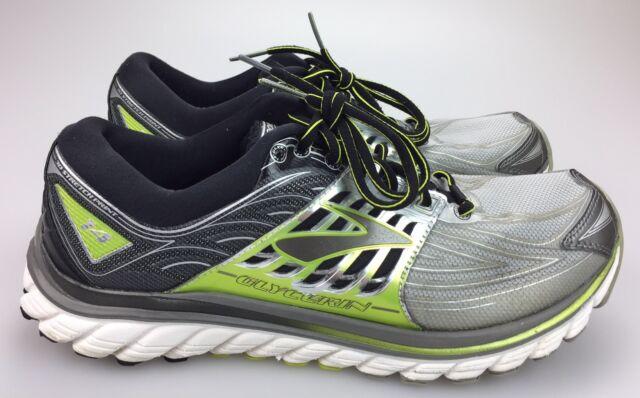 16d197eed8e Brooks Glycerin 14 Green Silver Running Shoes Men s 12.5 M EU 46.5  1102361D022