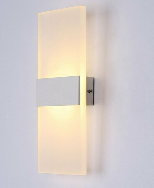 ZP 3W Wall Light Up & Down LED Sconce Lighting Lamp Indoor Cool /Warm White