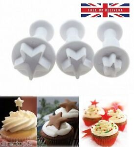 3-Piece-Set-Star-Fondant-Cake-Cookies-Icing-Decorating-Tool-Plunger-Cutter