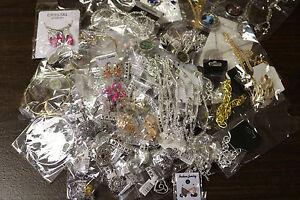 100-Mixed-Fashion-Jewelry-Wholesale-Lot-Earrings-Necklaces-Pendants-Bracelets