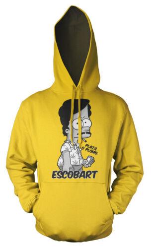 Pablo Escobar Bart Escobart Simpson mashup Adult Hoodie