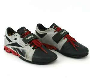 Reebok-Mens-CrossFit-Lifter-Gravel-U-Form-Leather-Weight-Lifting-Shoes-Size-9-5