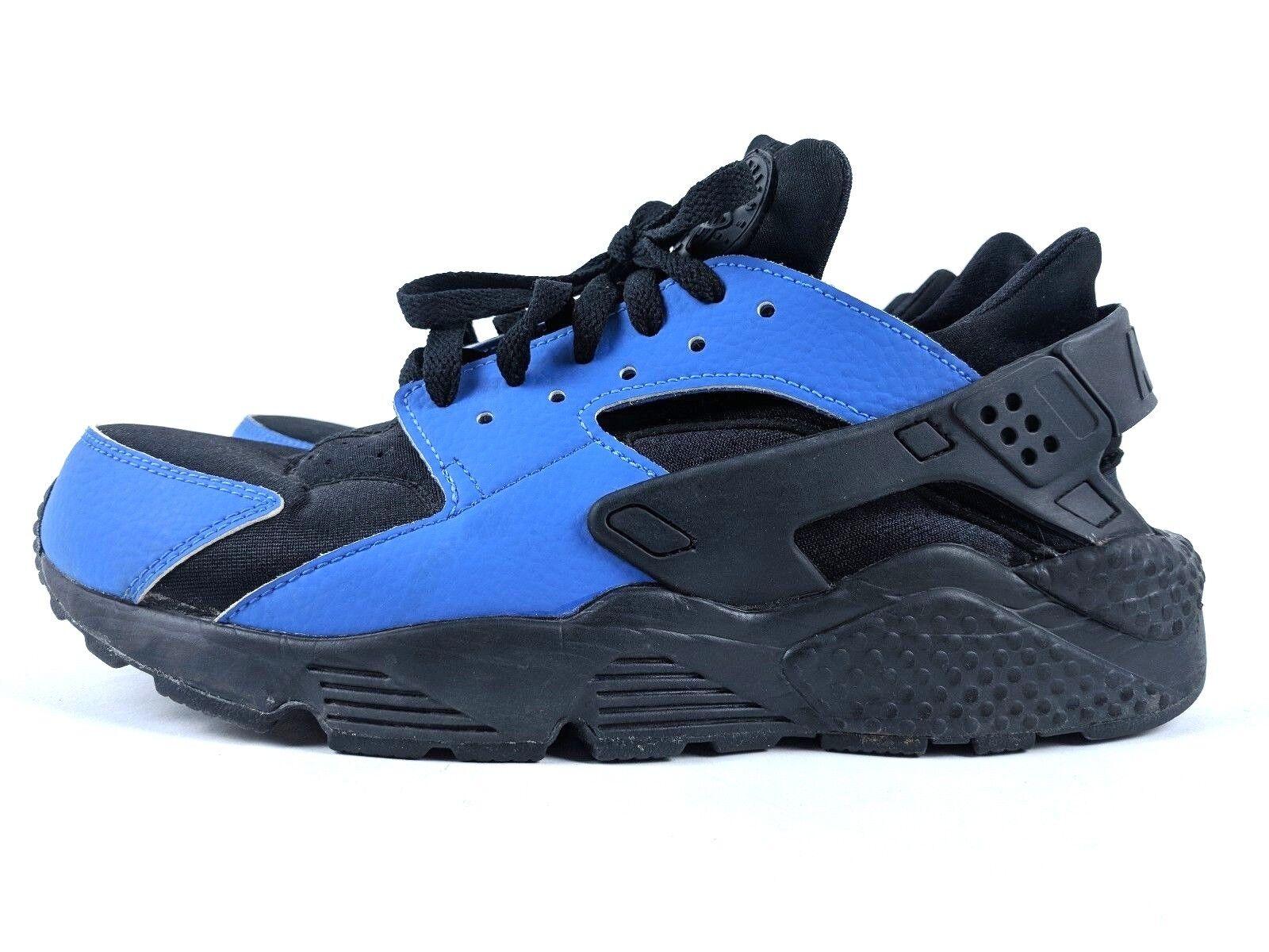 Nike Huarache iD Women's Black & Blue Nike iD Running Shoe, Sz 10 (777331-982)
