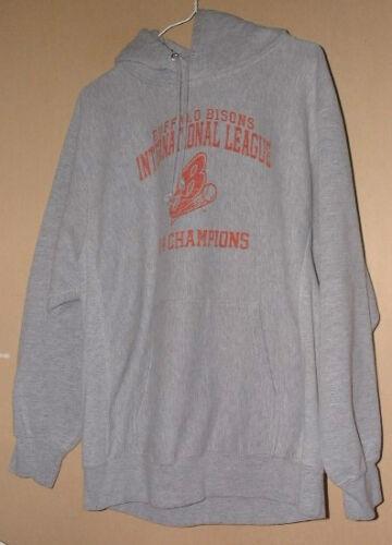 MV SPORT BUFFALO BISONS 2004 CHAMPS GRAY REVERSE W