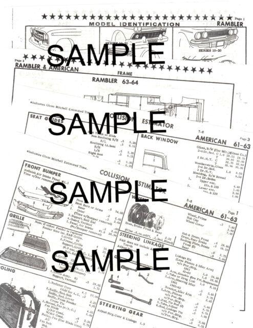 1958 1959 1960 Chevrolet Corvette 58 59 60 Body Part Numbers List