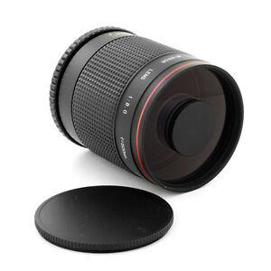 500mm f/8 Mirror Tele Lens for Micro 4/3 four third Panasonic Lumix DMC-GF2 G5
