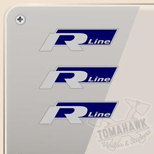 Details About Pegatina Kit Volkswagen R Line Vinilo Vinyl Sticker Decal Aufkleber Autocollant